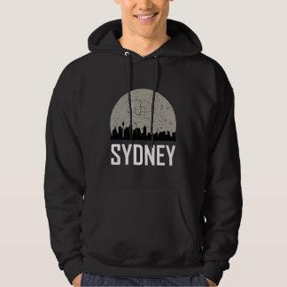Sydney Full Moon Skyline Hoodie