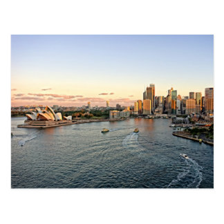 Sydney Harbor - Australia - Postcard