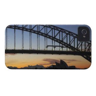 Sydney Harbor Bridge and Sydney Opera House at 2 iPhone 4 Cases