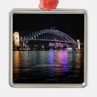 Sydney Harbor Bridge Metal Ornament