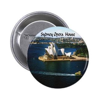 Sydney Harbor Oprea House 6 Cm Round Badge
