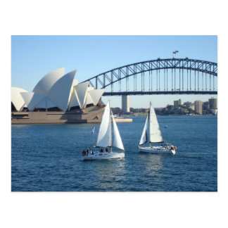 Sydney Harbor Postcard