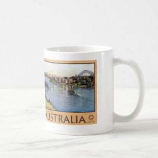 Sydney Harbour Australia Basic White Mug