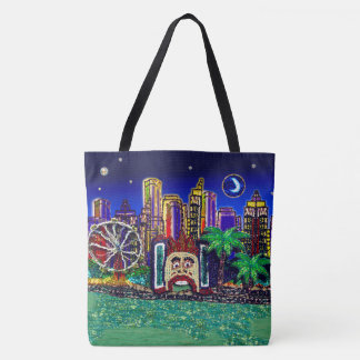 Sydney Harbour Australia by Sequin Dreams Studio Tote Bag