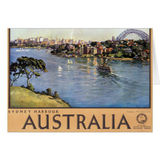 Sydney Harbour, Australia Greeting Card