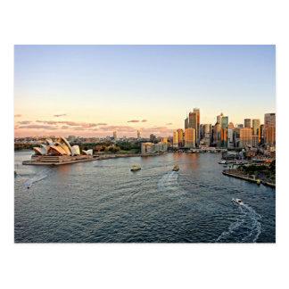 Sydney Harbour - Australia - Postcard