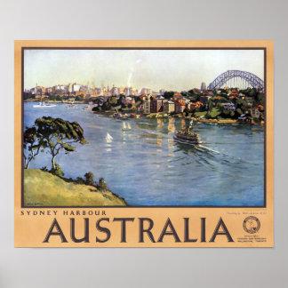 Sydney Harbour, Australia Print