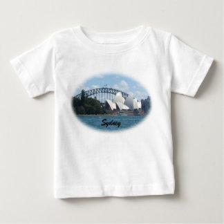 sydney harbour baby t-shirt