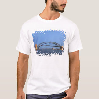 Sydney Harbour Bridge and Opera House at dusk T-Shirt