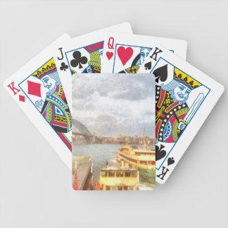 Sydney Harbour bridge and ships Poker Cards