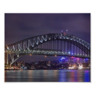 Sydney Harbour Bridge Austrailia Poster