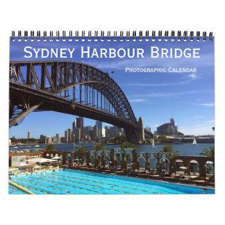 sydney harbour bridge calendar