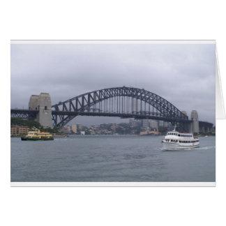 Sydney Harbour bridge Card