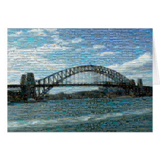 Sydney Harbour Bridge (Mosaic) Greeting Card