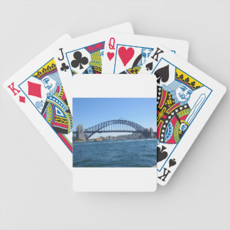 Sydney Harbour Bridge Bicycle Poker Cards