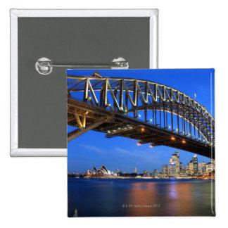 Sydney Harbour Bridge, Sydney Opera House and 15 Cm Square Badge