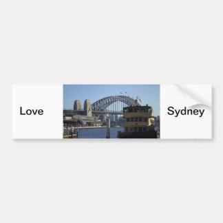 Sydney Harbour Bumper Sticker