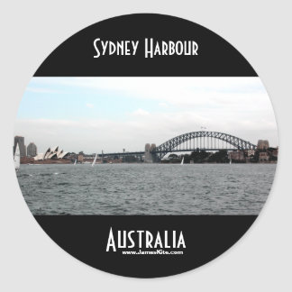Sydney Harbour Classic Round Sticker