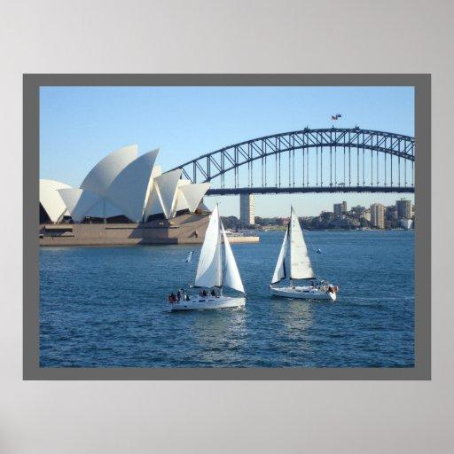 Sydney Harbour Posters