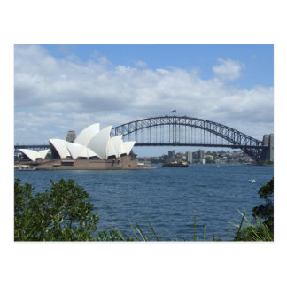 Sydney Harbour Skyline Postcard