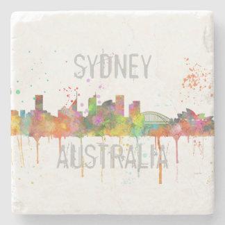 SYDNEY, NSW AUSTRALIA SKYLINE STONE COASTER
