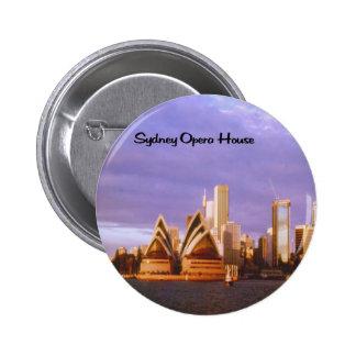 Sydney Opera House 6 Cm Round Badge
