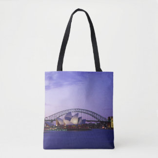 Sydney Opera House and Harbour, New South 2 Tote Bag