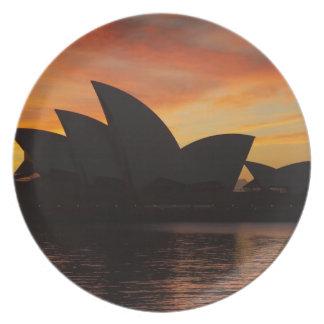Sydney Opera House at Dawn, Sydney, New South Dinner Plate