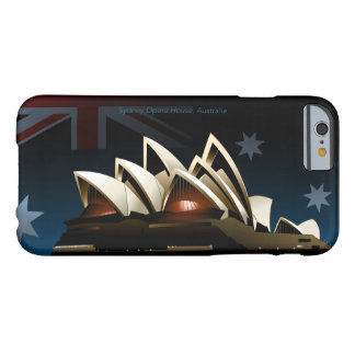 Sydney opera house at night barely there iPhone 6 case