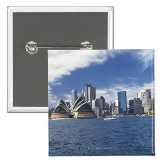 Sydney opera house, Australia 15 Cm Square Badge