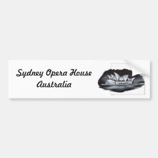 Sydney Opera House (Australia) Bumper Sticker