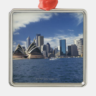 Sydney opera house, Australia Metal Ornament