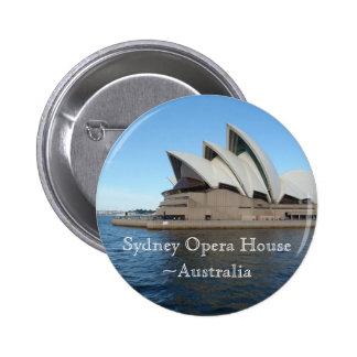 Sydney Opera House - Australia - Travel 6 Cm Round Badge