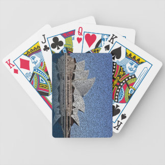Sydney Opera House Bicycle Playing Cards
