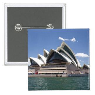 Sydney Opera House exterior, Sydney, New South 15 Cm Square Badge