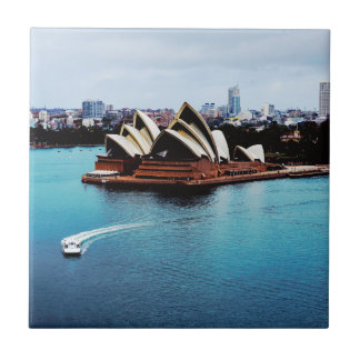 Sydney Opera House feature Small Square Tile
