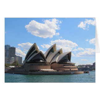 Sydney Opera House Greeting Cards