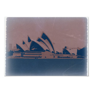 Sydney Opera House Personalized Announcements