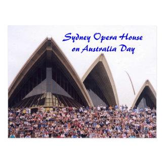Sydney Opera House on Australia Day Postcards