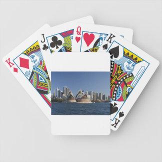 Sydney Opera House Poker Deck