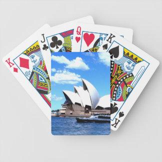 sydney Opera house Poker Cards