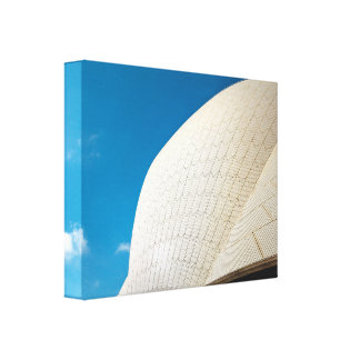 Sydney Opera House roof pattern Canvas Print