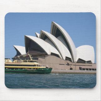 "Sydney Opera House With Sydney Ferry ""Collaroy"" Mouse Pad"