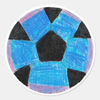 Sydney: Round Sticker