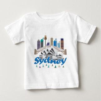Sydney Skyline Baby T-Shirt