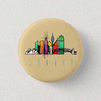 Sydney skyline pin