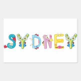 Sydney Sticker