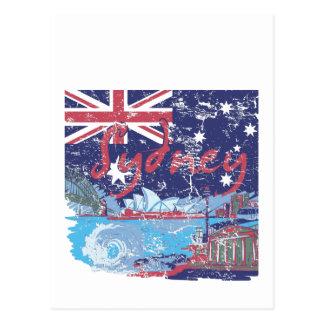 sydney vintage australia postcard