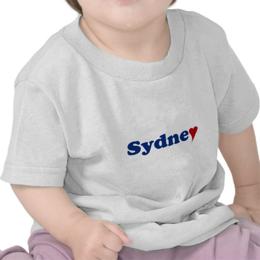 Sydney with Heart Tee Shirts