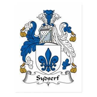 Sydserf Family Crest Postcard